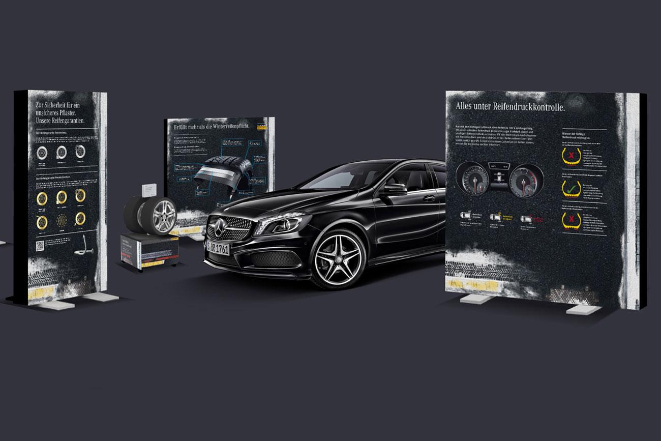 Mercedes-Benz ReifenRäder-Promotion